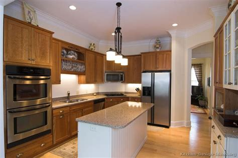 pictures  kitchens traditional medium wood cabinets golden brown page