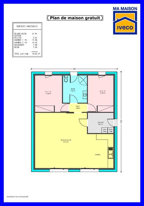 plan maison 2 chambres maison 2 chambres top maison