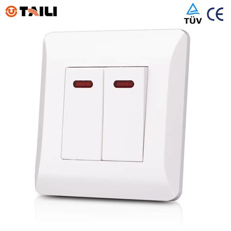 aliexpress buy 2 1 way wall switch panel