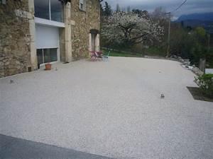 Allee De Jardin Facile : allee jardin beton desactive basalte md paysage conseils ~ Melissatoandfro.com Idées de Décoration