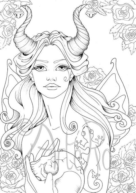 Image result for fairy coloring pages for adults Fairy
