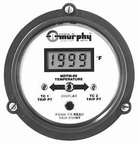 Dual Temperature Swichgage Mdtm89 Manuals
