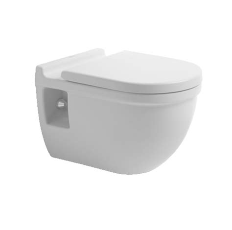 duravit starck 3 wall hung toilet with seat and cover 545mm 221509