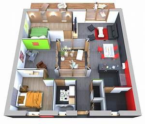 Plan Interieur Maison : plan interieur maison gratuit dicky ~ Melissatoandfro.com Idées de Décoration