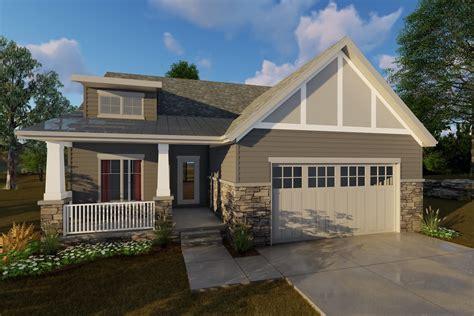 bedroom craftsman house plan sq ft home