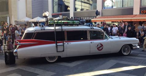 What Is The Ghostbusters Car by Iconic Ghostbusters Car Ecto 1 And Stay Puft