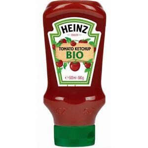 Heinz Tomato Ketchup Bio Topdown Bottle Original 500G   eBay