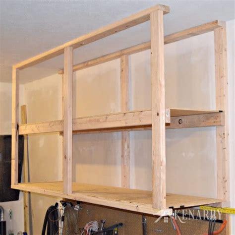 wall mounted garage shelving diy diy garage storage ceiling mounted shelves giveaway