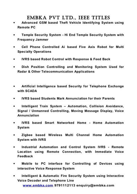 Embka embedded project titles embedded-electronics