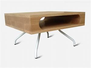 Petite Table Basse Bois - Maison Design - Sphena com