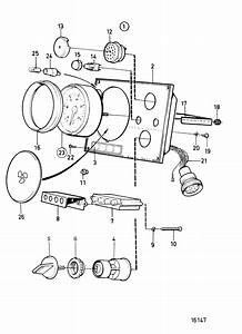 Volvo Penta Instrument Panel Wiring Diagram