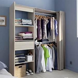 Dressing Tout En Un Avec Rideau : dressing topiwall ~ Dailycaller-alerts.com Idées de Décoration