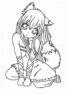 Chibi-Fox-Girl-Anime-Coloring-Page.jpg (600×825 ...