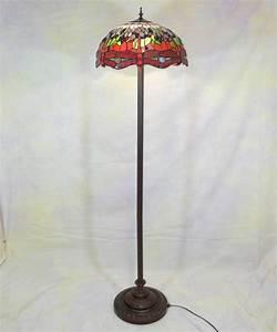 Lampadaire Art Deco : lampadaire aux libellules de style tiffany meubles art d co lampe tiffany fauteuil baroque ~ Teatrodelosmanantiales.com Idées de Décoration