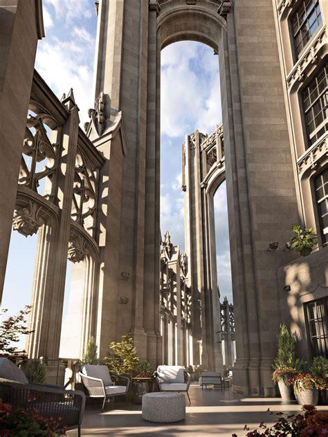chicagos tribune tower shows    million luxury