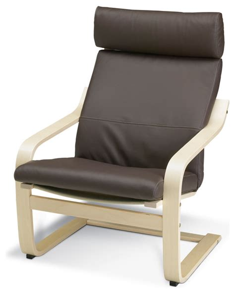 ikea poang chair cushion replacement uk po 196 ng poang armchair robust brown birch veneer