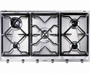 Plaque De Cuisson Gaz Smeg : srv596gh5 smeg taque de cuisson au gaz elektro loeters ~ Melissatoandfro.com Idées de Décoration