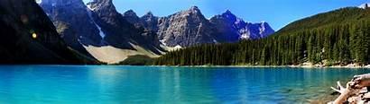 Lake Moraine Dual Wallpapers Klicken Dies Vorschau