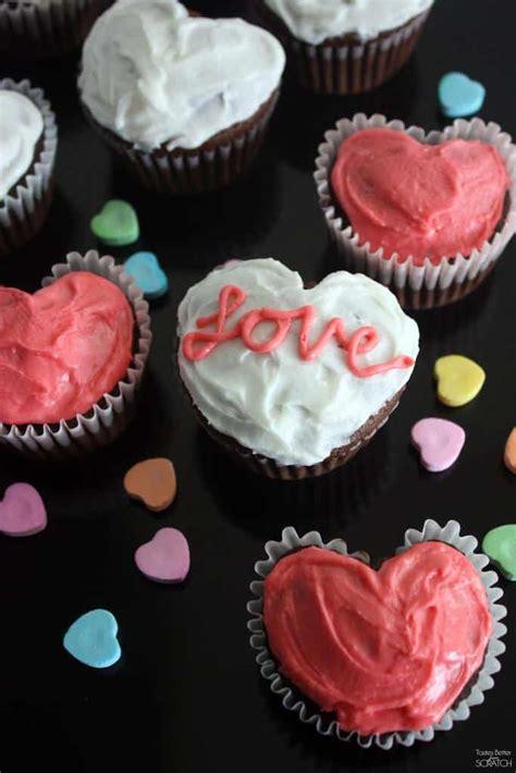 heart cupcakes    muffin tin tastes
