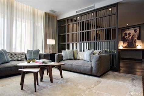 interior design ideas for living room and kitchen living room decor of modern penthouse interior 9857