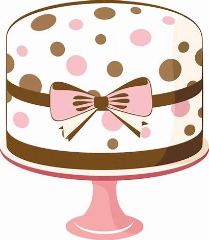Cake Clip Cliparts Birthday Happy Attribution Forget