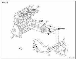 Nissan Altima Engine Oil Cooler