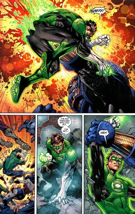 green lantern vs darkseid justice league comicnewbies