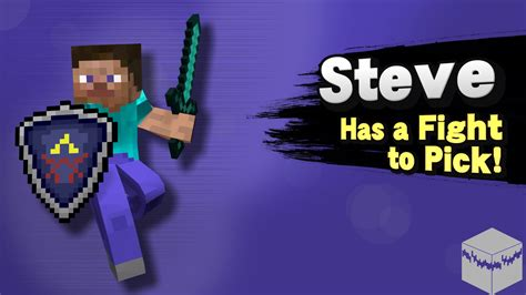 steve   fight  pick steve pack  super smash