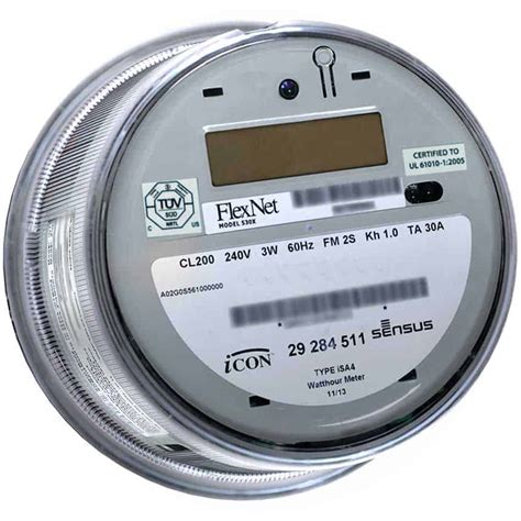 Sensus Products Icona Electricity Meters