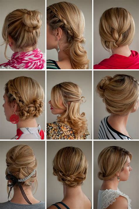 Easy Hairstyles For Hair Day by My Hair Style 30 Beautiful Easy Hairstyles For