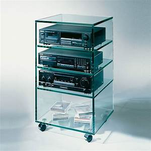 Hifi Tv Rack : glass concept stereo rack 1 hifi rack bei hifi tv ~ Michelbontemps.com Haus und Dekorationen