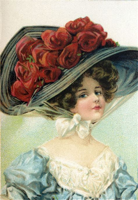 large victorian hats images ladies  graphics fairy