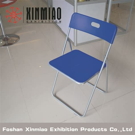 ikea white plastic folding chair for exhiition and meeting