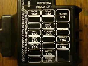 Mx5 Mk1 Interior Fuse Box