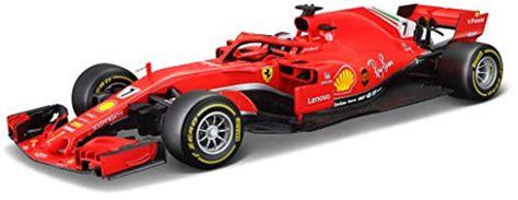High quality ferrari f1 gifts and merchandise. Bburago Maisto France Formula 1 Ferrari 2018 SF71H-Scale 1/18-Kimi Raikkonen, 16806R, Red ...
