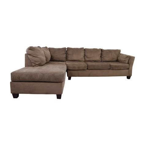 Sectional Sofas Bobs 52 Off Bob S Furniture Brown