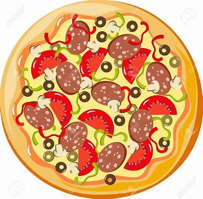 Pizza Clipart Whole Clip Pizzas Cliparts Circle