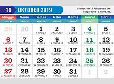 Kalender Oktober 2019 Lengkap Cetak Kalender 2019 harga