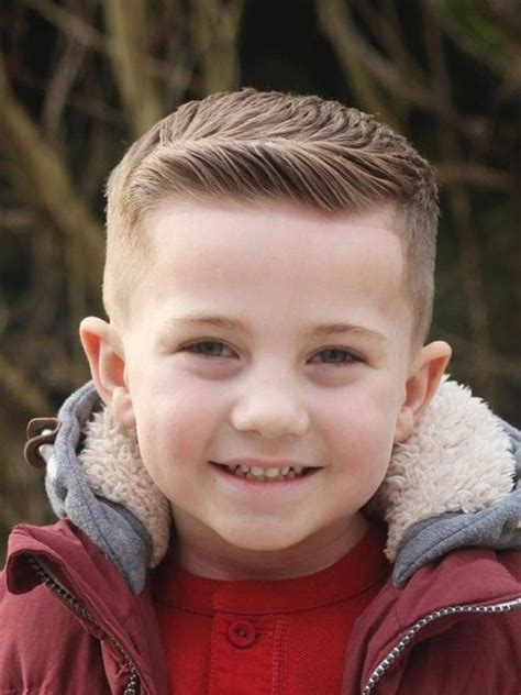 50 toddler boy haircuts your will 512 | tiny pompadour kids haircut 500x667