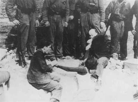 hiding place discovered  warsaw ghetto uprising