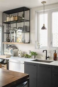 étagères Murales Ikea : la cuisine ikea quelqes astuces bricolage originales ~ Teatrodelosmanantiales.com Idées de Décoration