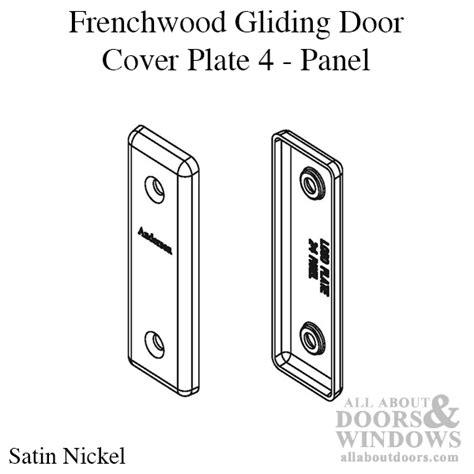 andersen frenchwood gliding door cover plate anvers