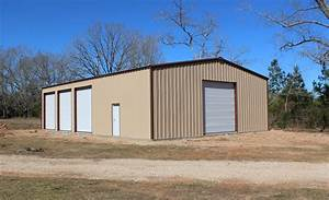 the construction of our 4039x6039 metal building completed With 40 x 60 x 16 metal building