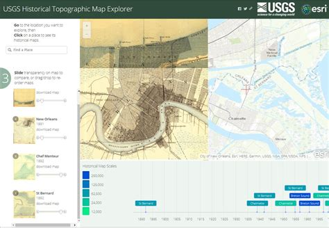 Exploring New Orleans And Beyond Using Web Mapping Tools