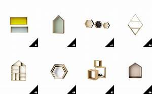 Etagere Murale Hexagonale : 16 tag res murales pour votre d co shake my blog ~ Preciouscoupons.com Idées de Décoration