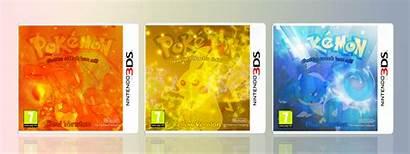 Pokemon Yellow Box 3ds Nintendo Boxes