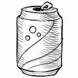 Coloring Soda sketch template