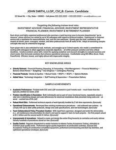 Financial Analyst Resume Template Free by 23 Best Trades Resume Templates Sles Images In 2013