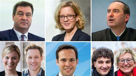 Präsident des senats und bürgermeister: Landtagswahl Bayern: Das sind die Spitzenkandidaten der Parteien | Augsburger Allgemeine