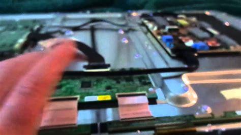 led lcd tv fix c 243 mo para doble imagen de samsung l 237 neas